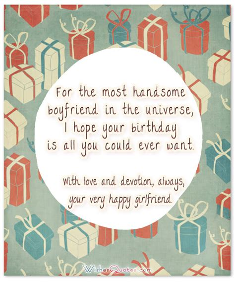 Messages To Write In Boyfriends Birthday Card 70 Cute Birthday Wishes For Your Charming Boyfriend