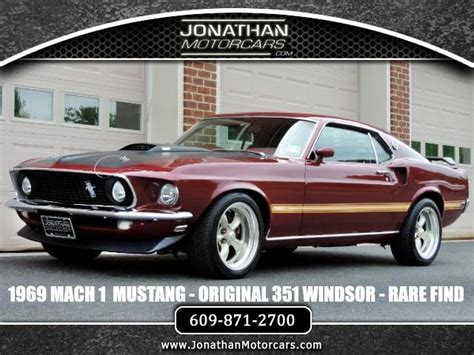 1969 Ford Mustang Mach 1 Fully Documented 351 Windsor