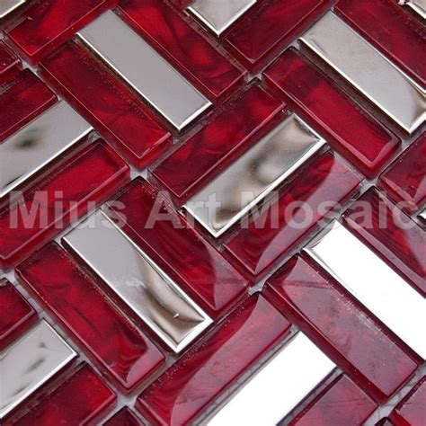 red kitchen backsplash tiles online buy wholesale red kitchen backsplash from china red