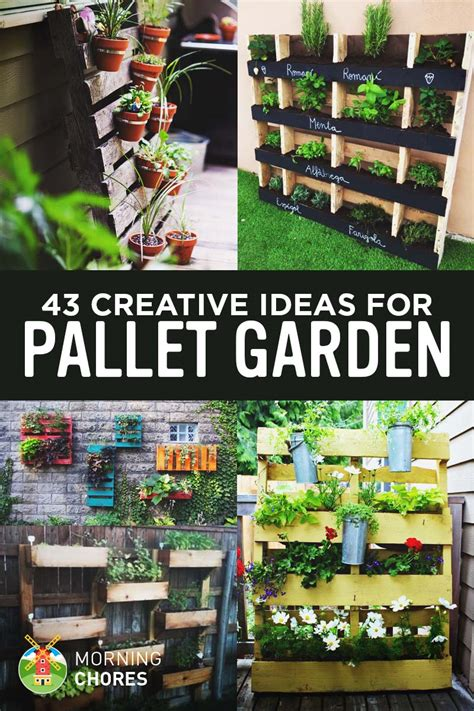 garden ideas with pallets 43 gorgeous diy pallet garden ideas to upcycle your wooden