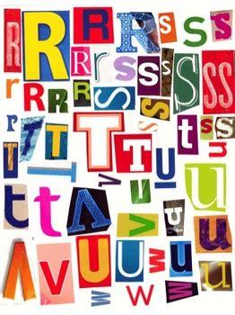 printable magazine letters printable magazine letter cutouts set 2 alphabet a z