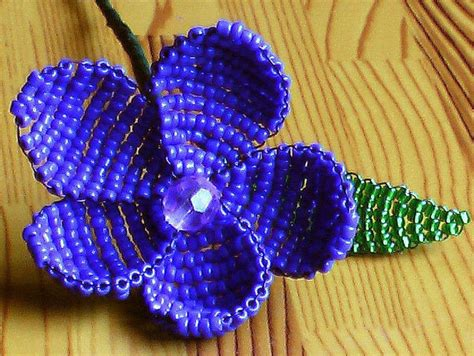 beaded flowers free beaded flower 183 how to make a beaded
