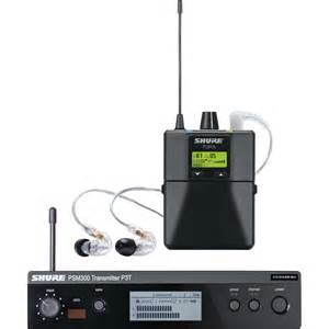 shure psm 300 stereo personal monitor system p3tra215cl