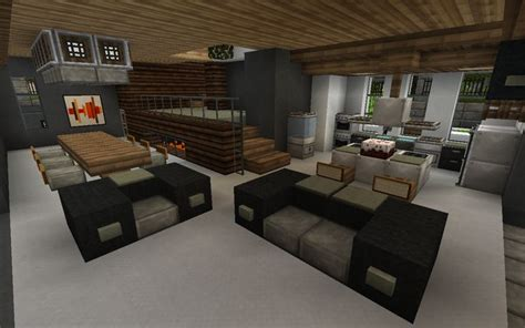 Minecraft Interior Design Minecraft Kitchen Design Minecraft Pinterest Modern Design And Fireplaces