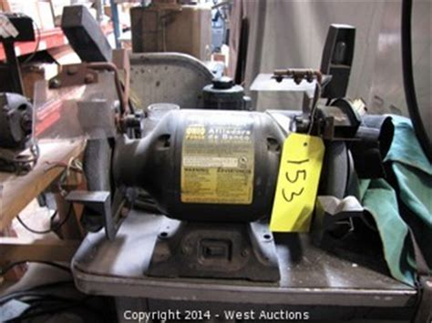 ohio forge bench grinder west auctions auction liquidation of bay area