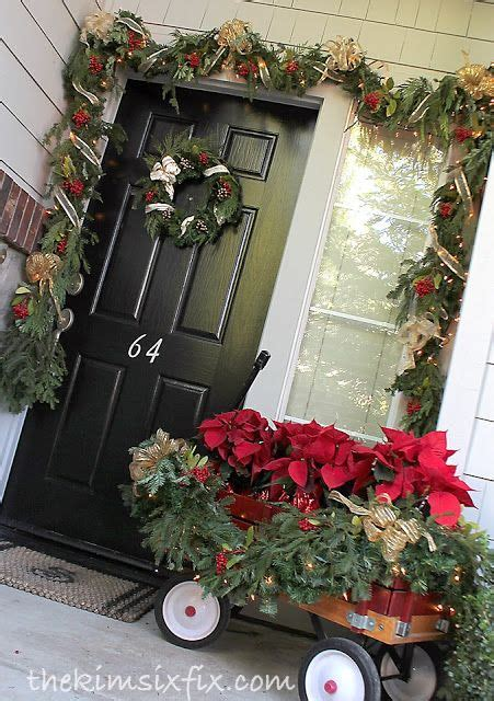poinsettia on porch 1012 best primitive colonial country exterior decor images on