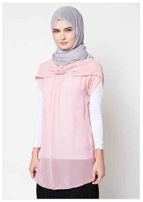 Baju Muslim Wanita 2016 10 Contoh Model Baju Muslim Atasan Wanita Model Terkini 2016