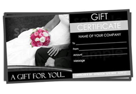 wedding gift certificate template wedding gift certificate templates easy to use gift