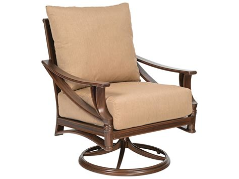 Replacement Seats For Patio Chairs by Woodard Arkadia Swivel Rocker Lounge Chair Replacement
