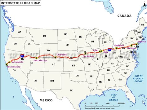 usa road map i 90 buy us interstate 80 map