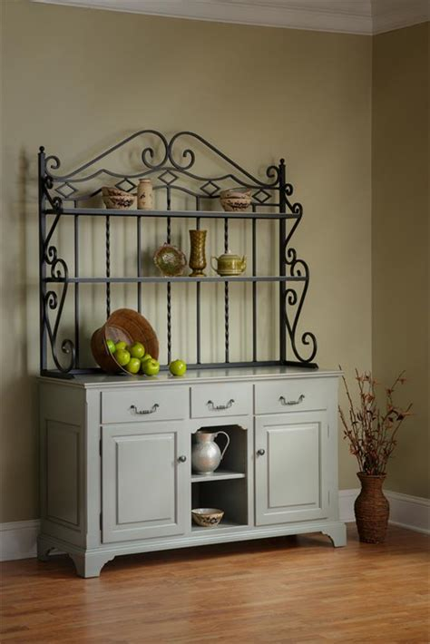 heirloom buffet  bakers rack  dutchcrafters amish