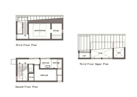 Gallery Of Nn House Panda 27 Modern Asian Floor Plans