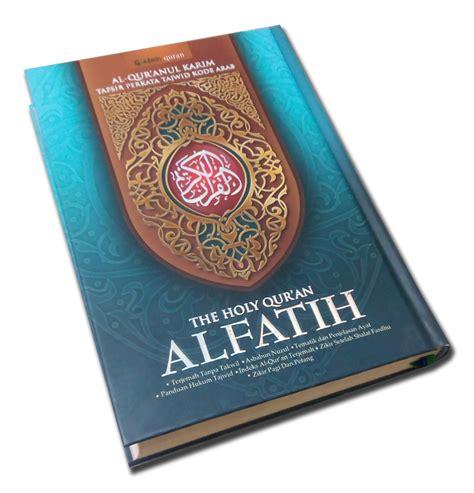 Al Quran Alfatih Al Fathan A4 al quran per kata al fatih a4 jual quran murah