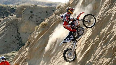 hill climb racing motocross bike daredevil bikers do impossible hill climbs in andler