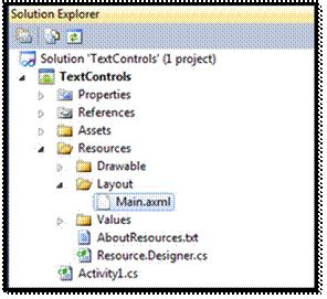 layout modification xml internet explorer working with textview and edittext in android applications