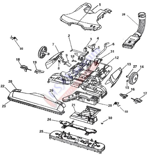 hoover floormate parts diagram hoover h3000 parts