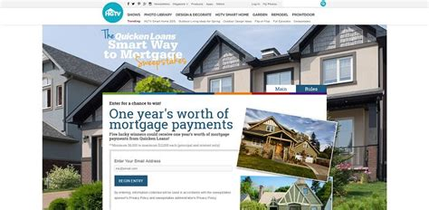 Mortgage Sweepstakes - hgtv and quicken loans smart way to mortgage sweepstakes hgtv com smartwaytomortgage