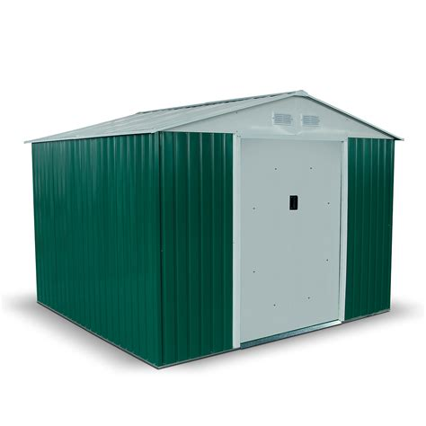 When Do Boxers Shed by Billyoh Boxer 8 X 9 Green Apex Metal Shed Garden Sheds Gt Metal Sheds Garden Buildings Direct