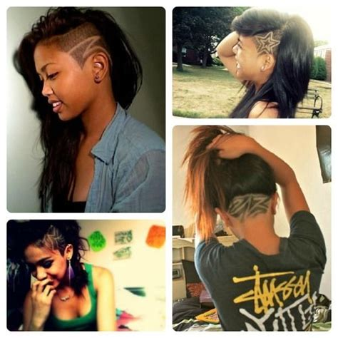 swag haircut women 43 best shaved styles images on pinterest hair dos
