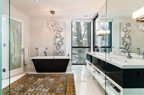 15 fragrant contemporary bathrooms that celebrate the style
