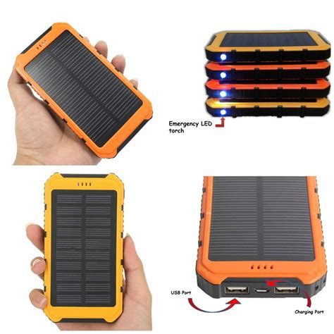 Solar Power Bank Portable Dual Usb End 8 25 2017 12 15 Pm Solar Light Battery Charger