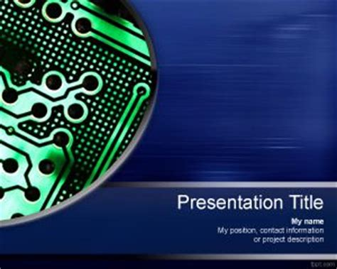 it powerpoint template professional it powerpoint template free powerpoint