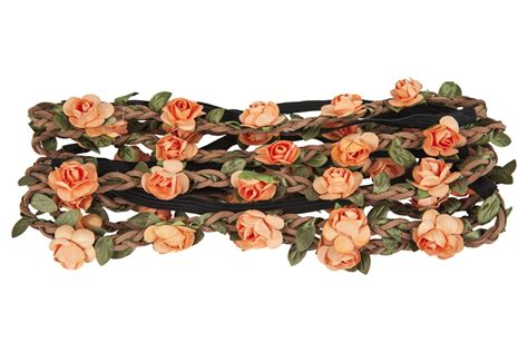 Wedding Hair With Flower Garland by 10 Pack Floral Headband Wedding Bridal Flower Garland