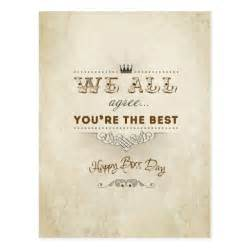 you re the best happy s day postcard zazzle
