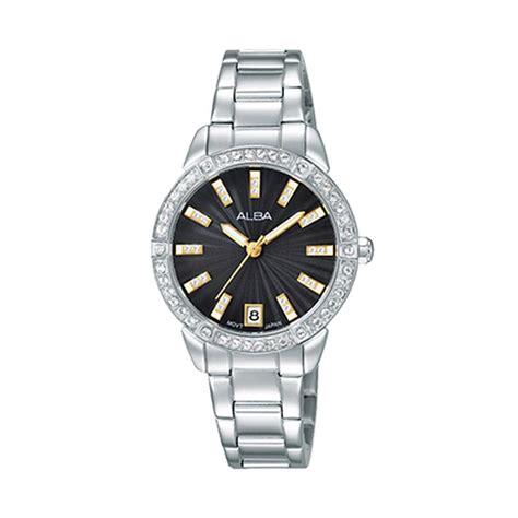 Jam Tangan Alba 8 jual alba ag8h05x1 jam tangan wanita silver hitam harga kualitas terjamin blibli