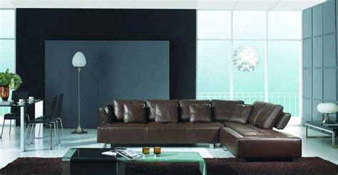 silver lining avenue mad men office interiors contemporary brown sectional sofa 675 leather sectionals