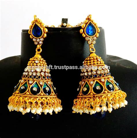 Western Chandelier Home Gt Product Categories Gt Earrings Gt Antique Big Jhumka
