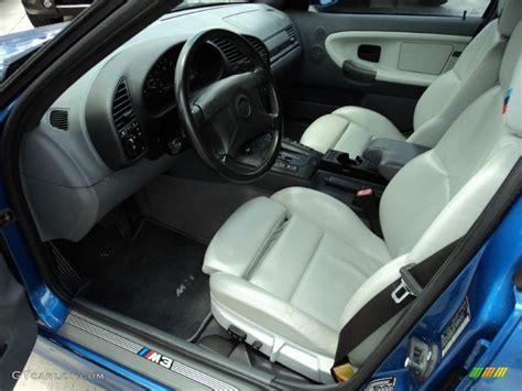 Bmw Grey Interior by Grey Interior 1998 Bmw M3 Sedan Photo 50391765 Gtcarlot