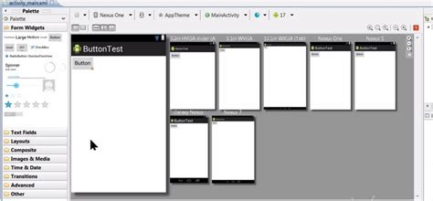 android layout land not used multiple layouts previews for android in eclipse stack