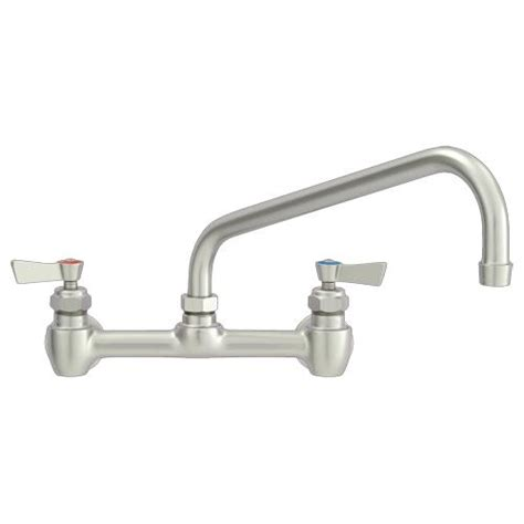 Commercial Plumbing Supplies by Fisher 60933 8 In Wall Mount Faucet W 10 In Swing