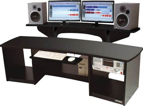 omnirax presto 4 studio desk studio desk black products on sale