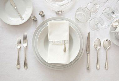 beautiful place settings set a beautiful formal scene one kings lane helpful