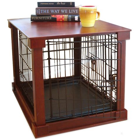 end table crate pet crate end table in pet pens