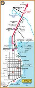 us map seward alaska seward ak usa cruise port of call