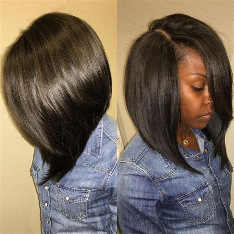 pictures if short quick weave with lonng side burns 2018 popular long bob quick hairstyles