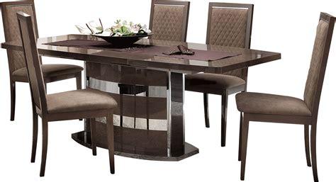 roma dining walnut italy modern formal dining sets platinum slim dining modern formal dining sets dining