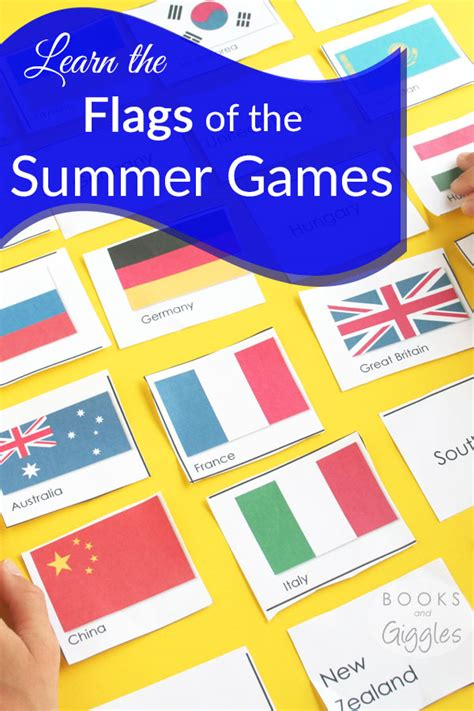 flags of the world learning game learning flags for the summer games free printable