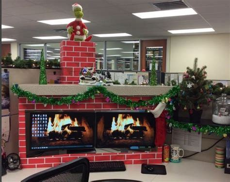 9 cubicle dwellers with serious christmas spirit