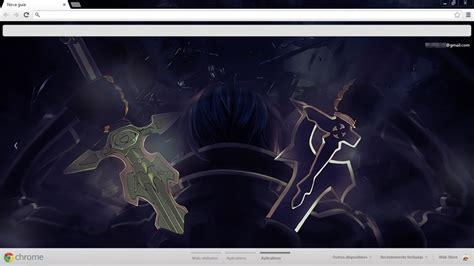 theme chrome sword art online sao sword art online theme for chrome by lucasmartins27