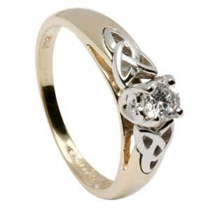 celtic engagement rings celtic engagement ring with inset knots made in ireland by shanore