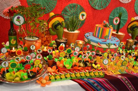 decorar mesa mexicana decora 231 227 o de festa mexicana dicas fotos