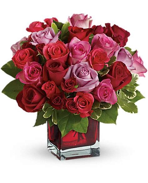 Wishes Florist Ck 5 Buket Bunga madly in bouquet with roses by teleflora flowers