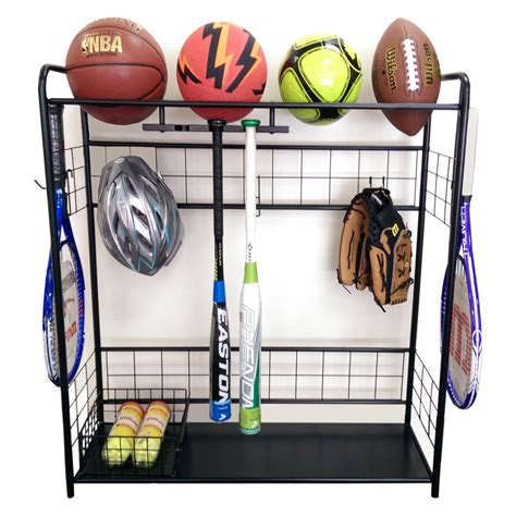 Sports Storage Rack by Jj International Sports Organizer Storage Rack Storage
