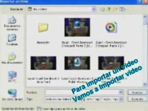 importar imagenes y videos windows 7 tutorial como manejar el windows movie maker importar