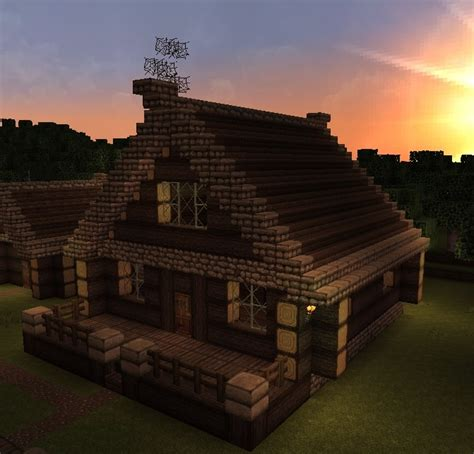 Minecraft Cabin House by Image Gallery Minecraft Cabin
