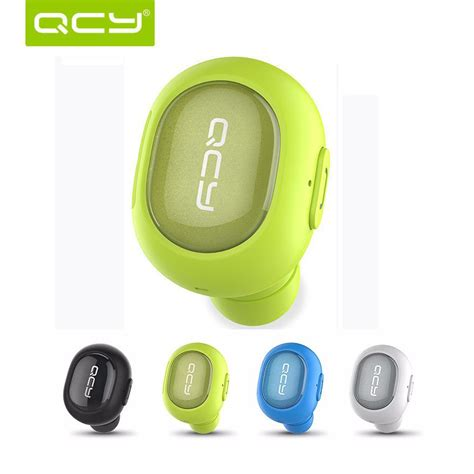 Headset Bluetooth Qcy headphones earbuds qcy q26 mini waterproof ipx2 earphone sport driving wireless stereo